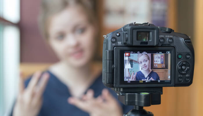 Trabajar desde casa youtuber o blogger