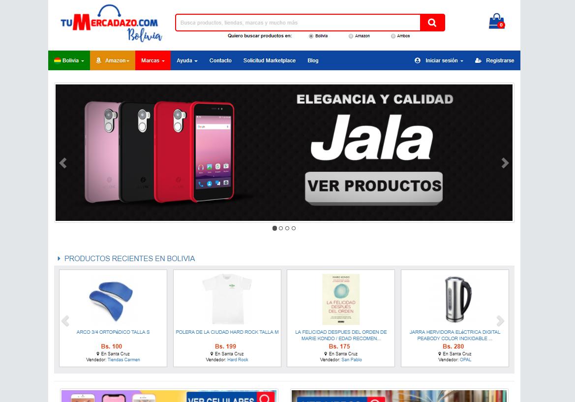 TuMercadazo comprar online en bolivia