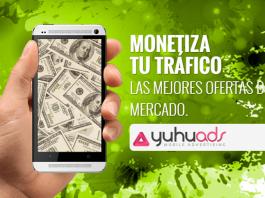 Yuhu Ads ganar dinero tráfico movil