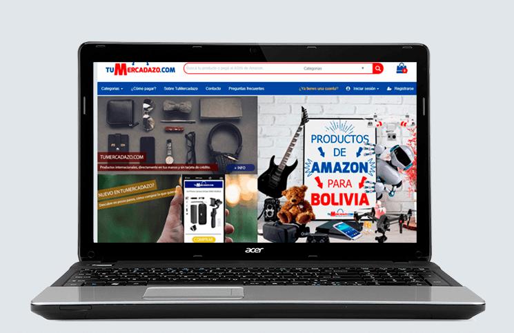 Cómo comprar cosas de Amazon desde Bolivia