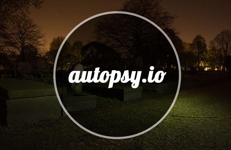Autopsy.io servicio para saber por qué fallaron algunas Startups