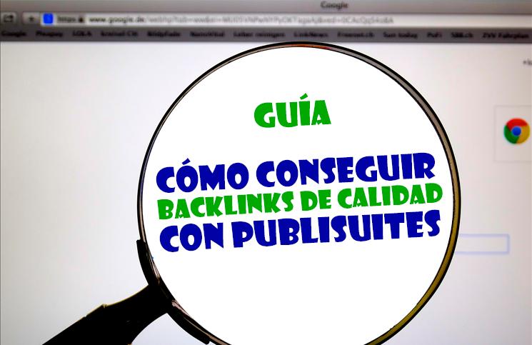 Backlinks de calidad con publisuites