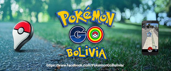 Pokemon GO en Bolivia Facebook