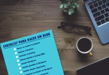 checklist para hacer un blog en wordpress