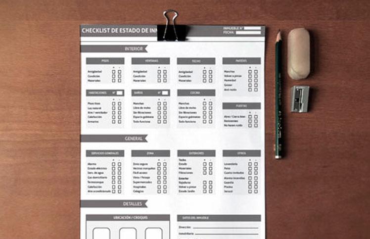 Checklist analizar inmueble 1