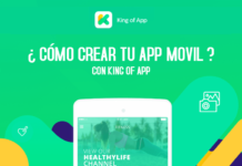 crear app movil con king of app