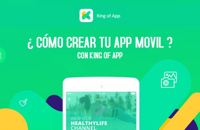 crear app movil con king of app