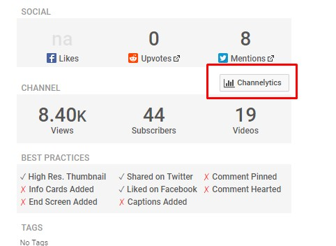 crecer en youtube - tubebuddy channelytics