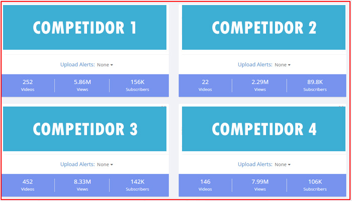 crecer en youtube - tubebuddy competitors