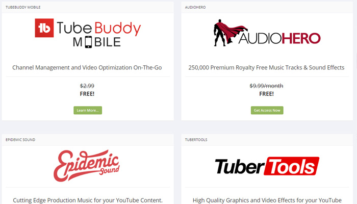 crecer en youtube - tubebuddy perks
