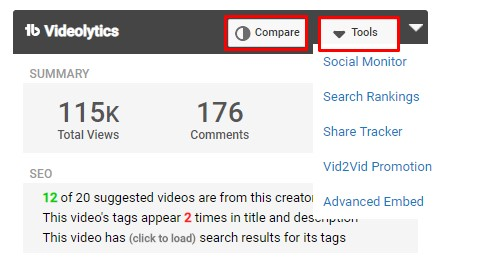 crecer en youtube - tubebuddy videolytics tools
