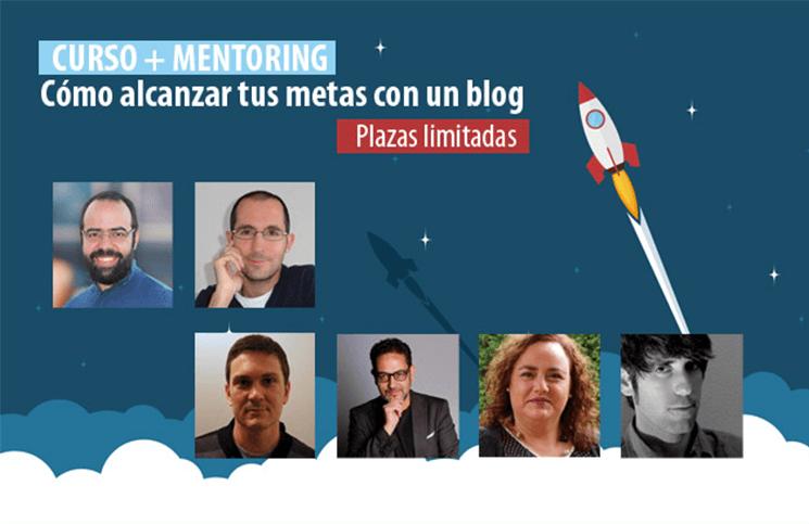 [Curso + Mentoring] Cómo alcanzar tus metas con un blog