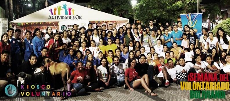kiosko voluntarios mclanfranconi bolivia