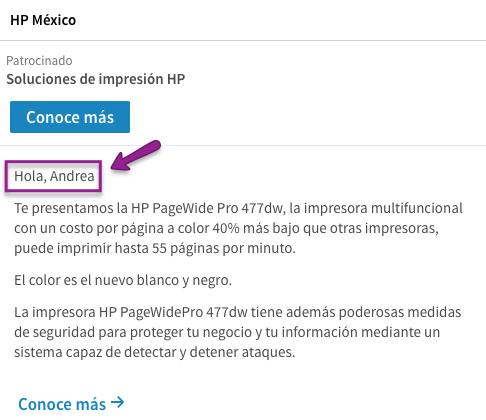 Anuncios de Linkedin 6