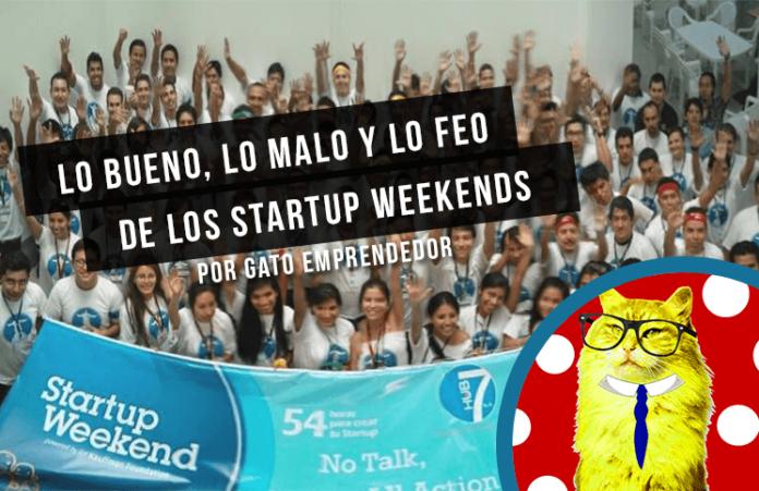 lo bueno y lo malo de los startup weekends