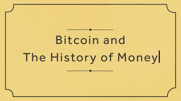 La historia del Bitcoin y del dinero en menos de 5 minutos.