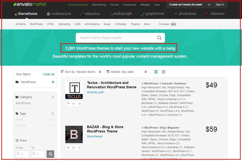 pasos para crear un blog themeforest
