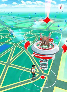 Pokemon GO en Bolivia Gimnasio