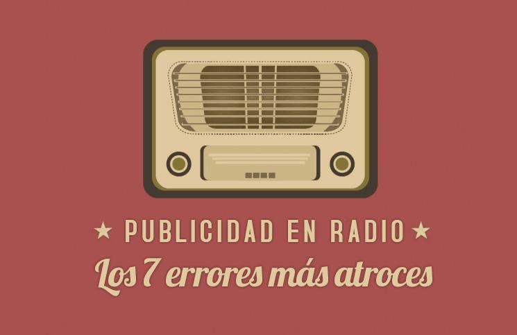 publicidad en radio 7 errores