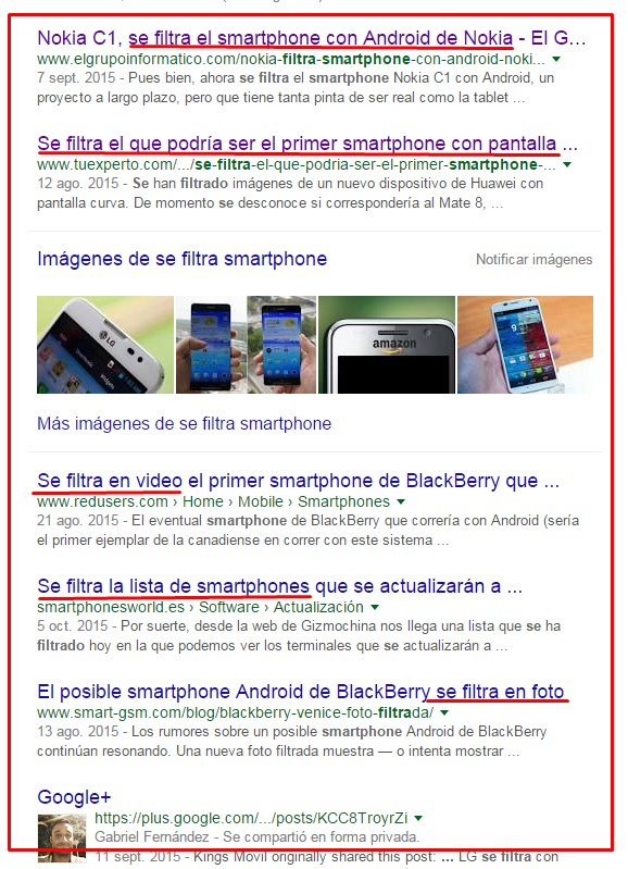 se filtra el smartphone